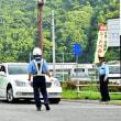 夏の交通安全やまびこ運動一斉街頭活動