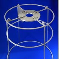 ステンレス(SUS)丸棒とステンレス板を使った溶接組立
