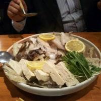博多の夕食