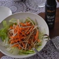 PODOR セサミシードオイルでシャキシャキ根菜サラダ♪