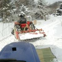消火栓の雪かき
