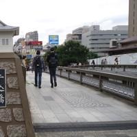 のんびりラン~靖国通りを左折して~神楽坂