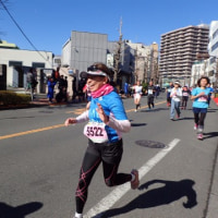達成感いっぱい☆青梅マラソン
