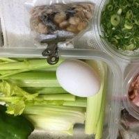 冷凍庫をゴソゴソと お弁当 5時