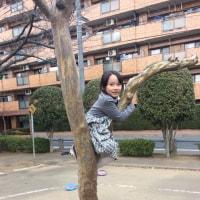 2/18おてんばさん達の木登り