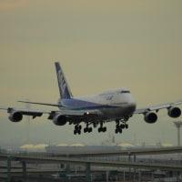 B747 あの日の羽田空港