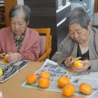 干し柿作り♪手作りの味☆