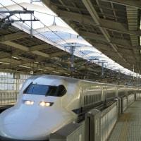 東海道本線天竜川駅7時13分 (2017年2月 オマケは熱海通過の700系)