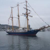 2017長崎帆船まつり 開幕初日 帆船・みらいへ 2017・4・20