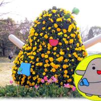 大阪のええとこ(^^♪みんなを楽しませるため長居植物園の土の中からポンっと生まれたイメージキャラクター「しょくぼん」