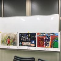昨日(木曜日)も今日(金曜日)も絵画教室でした。