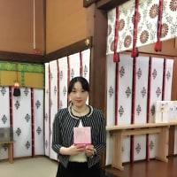 神社で出版奉告祭をしていただきました!