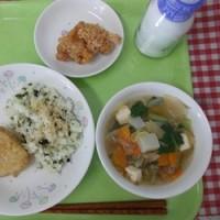 3月10日の給食 災害用備蓄米