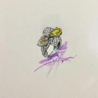 Unheated Sapphire 3ct〜4ct 非加熱 サファイヤ 新作 グラートウス コレクション