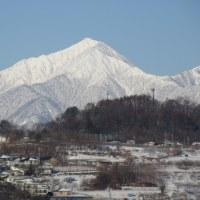 1月18日(水)やっと顔を見せてくれた山々