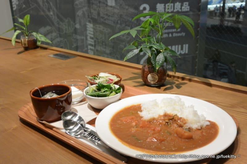 無印良品『素材を生かした アメ色玉ねぎのカレー』試食会@Café & Meal MUJI 渋谷西武
