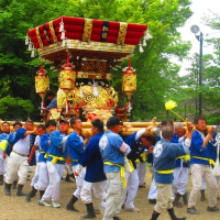 三木市の春祭り・屋台