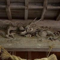 若杉不動滝と三社神社(わかす不動滝とさんじゃ神社)