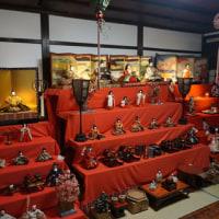 雛飾りをお手伝いした「京空間mayuko」へ。3月13日まで公開中