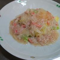 炊屋食堂、白菜とキャベツの野菜定食・・・