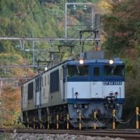 10月22日撮影 西線貨物3088レと3084レ