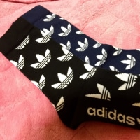adidasブランドコアストアで♪お買い物♪( ´▽`)靴下載せ忘れ♪