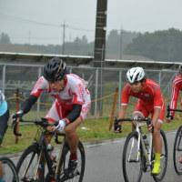 雨の内灘サイクルロードレース