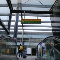 ヒースロー空港到着からチェックインまで    投稿者:佐渡の翼