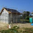 ちょっと良い貸家プロジェクト!岬町押日『 小さなGarden House(貸家) 』は大工工事ほどほど順調進行中!です。