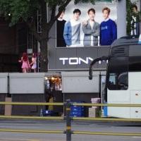 【DDP前のバス停からホテルに戻ろう…】韓国旅行〔21〕2016/6/19