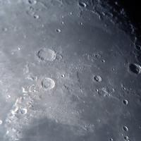 月面北東部ビュルク付近