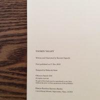 《 新作絵本「TOOMIN VALLEY」について 》 ※本日1/22は、個展最終日です。20時まで。