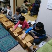 4月17日の子供教室の風景。