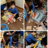 ゆうくん3歳のお誕生会