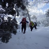 御嶽・飛騨頂上(2,811m)へ行ってきました。 20161224
