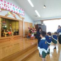 三隈幼稚園 新保育棟落成式に出席♪