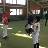 福島ホープス野球教室 in 南会津