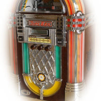 ジュークボックス型CDプレイヤー