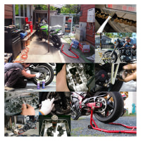 オートバイをメンテナンスする。(番外編vol.1034)