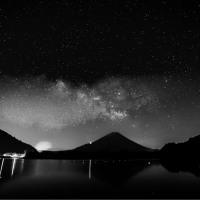21/May パノラマ台と精進湖の星空とコルリとコマドリ