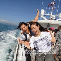 大型船シーエンジェル号でピピ島観光ツアーへ行こう♪