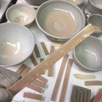 窯出し / Put out the kiln.
