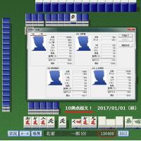 麻雀ゲーム、元日に優勝