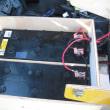 直流開閉器とバッテリー用セパレーター