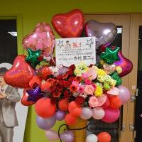 大宮のラクーンよしもと劇場にお届けのスタンド花