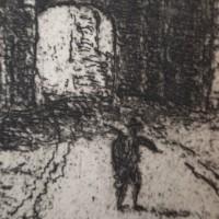 ● モノクロームの世界 / 銅版画 PORTE VISE