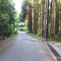 岩湧の森 裏山の一徳坊を越えて岩湧へ行き、更に紀見峠へ行く予定を途中で変更帰宅するも20キロの道のりでした。2017年5月21日その3