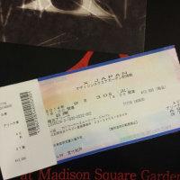 X JAPAN  マディソンスクエアガーデン前哨戦   参戦!