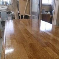 テーブルの塗装工事!