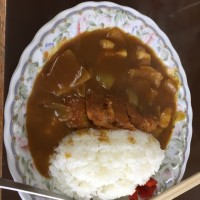 花泉町 すがや食堂 カツカレー
